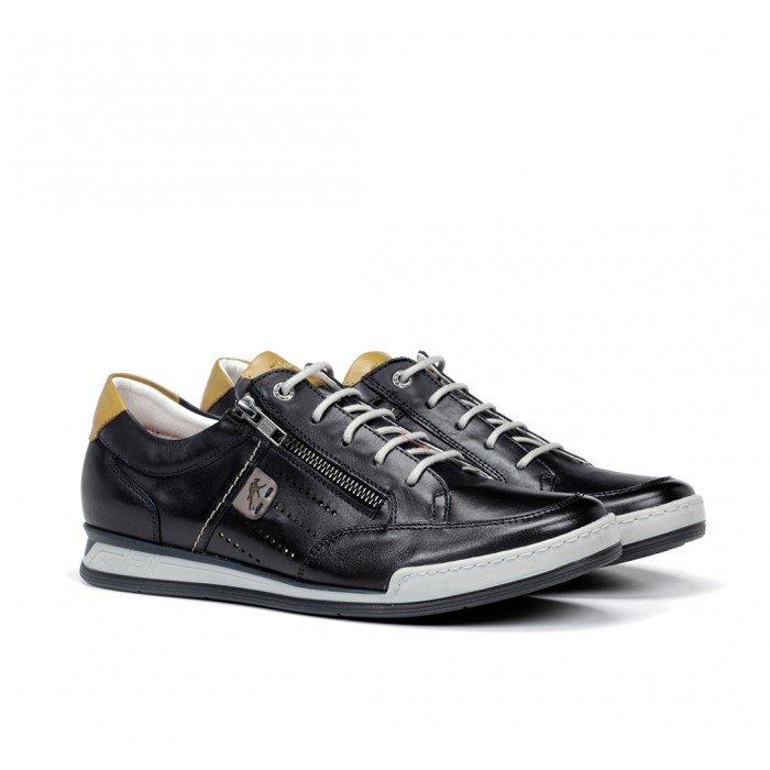 Zapatos Deportivos Hombre Fluchos Etna F0148 Azul Marino