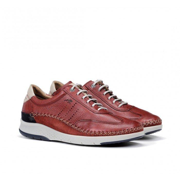 Zapatos Hombre Fluchos Maui F0798 Rojo Terracota