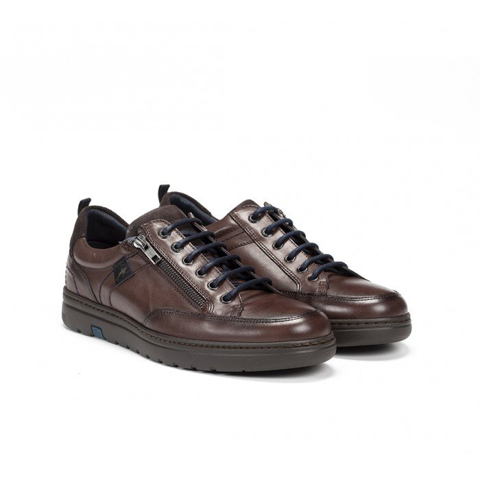 Zapatos Hombre Fluchos Atlas F0298 Marrón Castaño