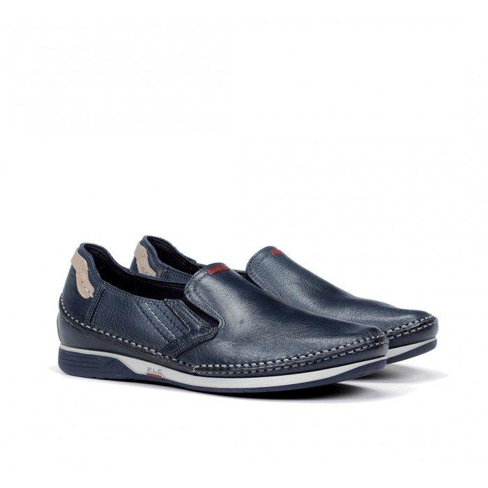 Zapatos Hombre Fluchos James 9126 Azul Lago