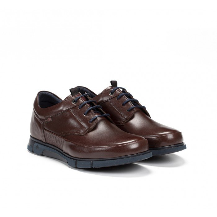 Zapatos Hombre Fluchos Tiger F0402 Marrón Brandy