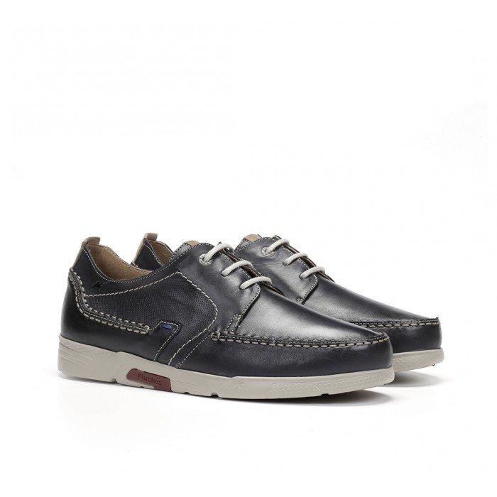 Zapatos Hombre Fluchos Choi F0435 Azul