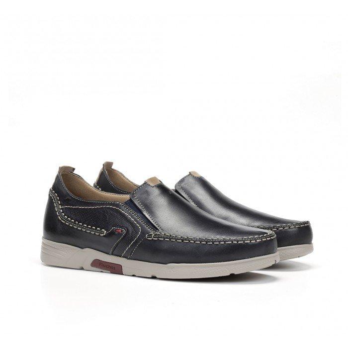 Zapatos Hombre Fluchos Choi F0440 Azul