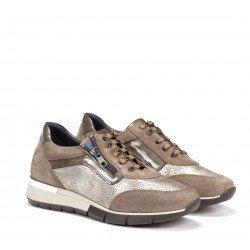 Zapatos Mujer Dorking D8082 Marrón Fango