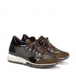 Zapatos Deportivos Mujer Dorking Xanet D8081 Calf Verde Herb
