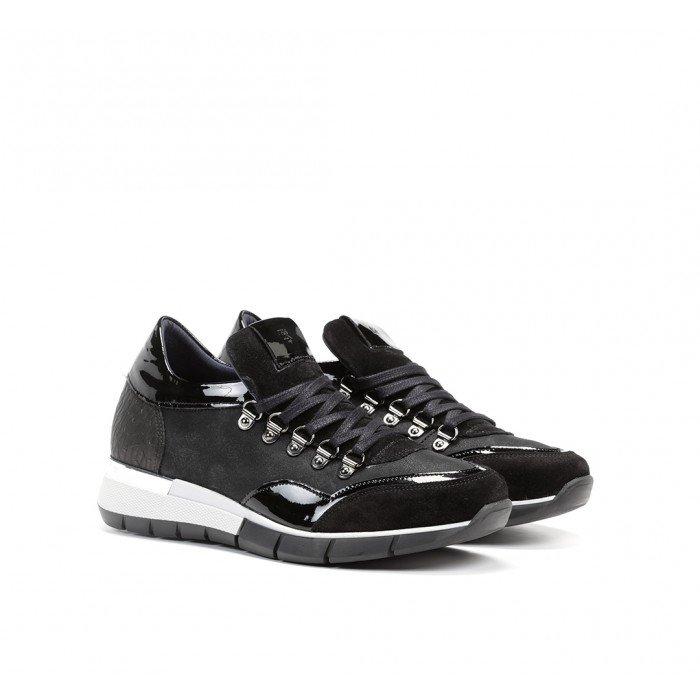 Zapatos Deportivos Mujer Dorking Xanet D8081 Calf Negro