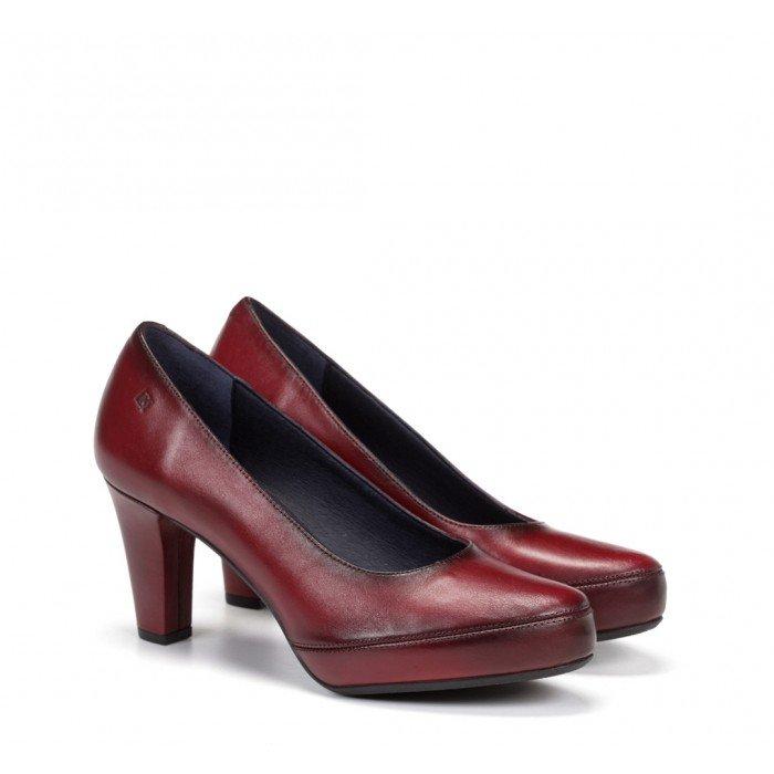 Zapatos Salón Mujer Dorking Blesa D5794 Sugar Burdeos