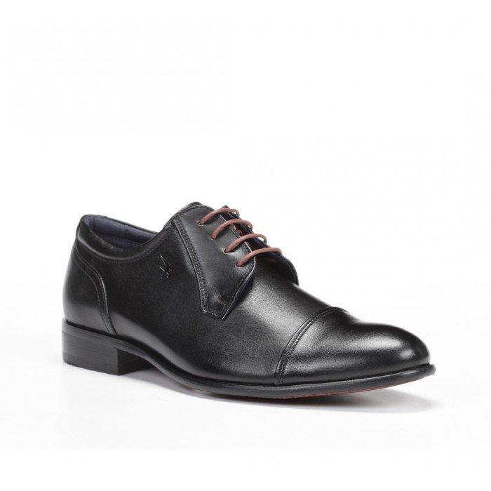 Zapatos Hombre Fluchos Apolo 9028 Memory Negro