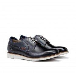 Zapatos Hombre Fluchos Giant 9796 Azul Océano