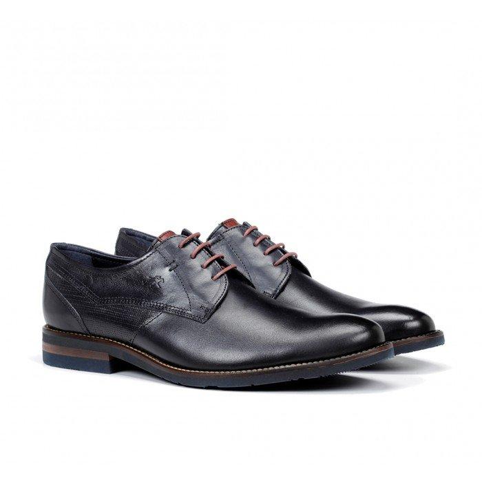 Zapatos Hombre Fluchos Olimpo F0137 Azul Océano