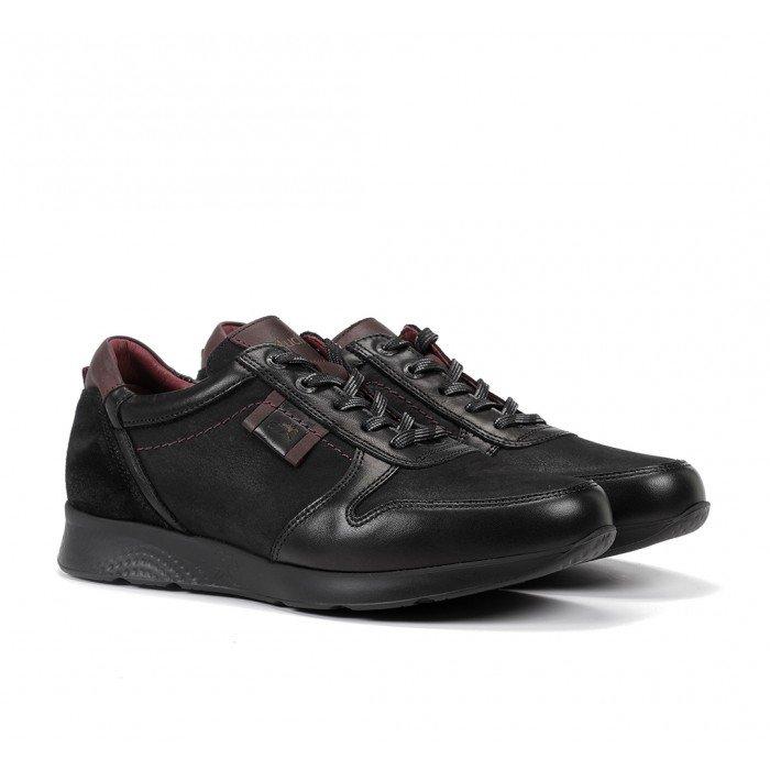 Zapatos Hombre Fluchos Kodiak F0645 Negro