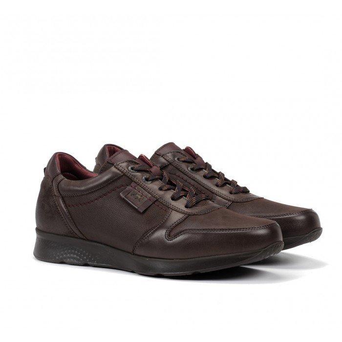 Zapatos Hombre Fluchos Kodiak F0645 Marrón Café
