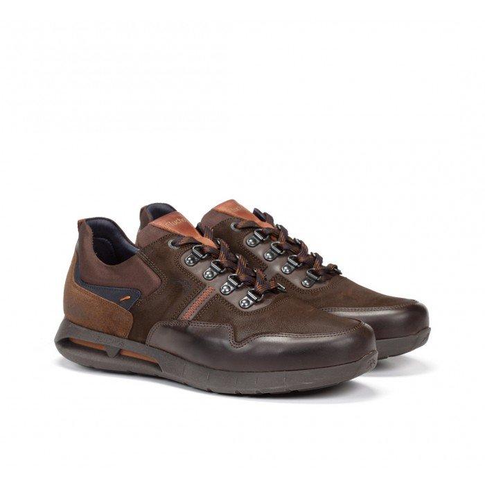 Zapatos Hombre Fluchos Cypher F0659 Marrón Café