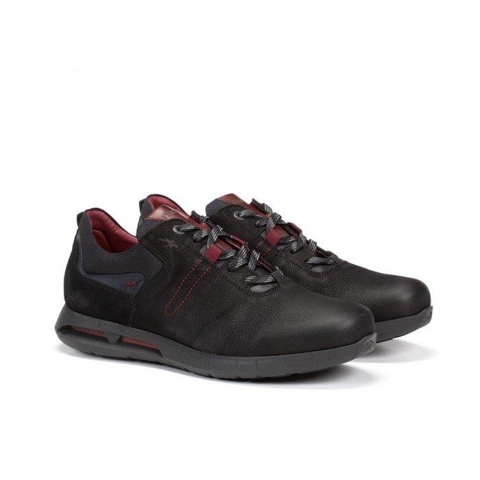 Zapatos Hombre Fluchos Cypher F0657 Negro