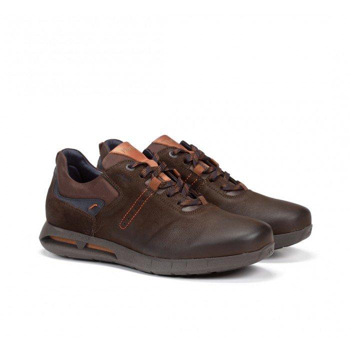 Zapatos Hombre Fluchos Cypher F0657 Marrón Café