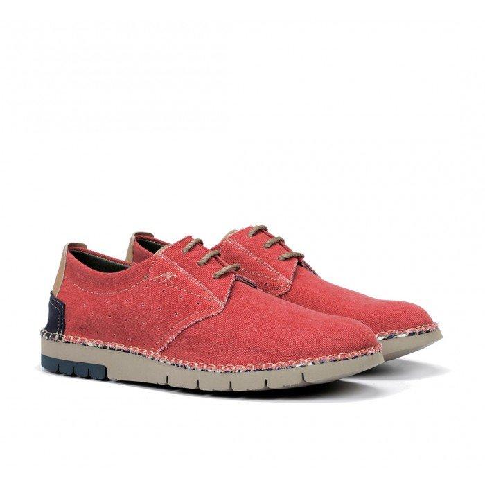 Zapatos Hombre Fluchos Thomas  F0560 Rojo