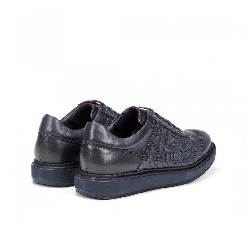 Nuevo calzado hombre Fluchos Nodo F0626 piel stéreo azul