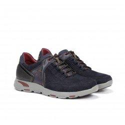Zapatos Hombre Fluchos Kansas  F0669  Azul Marino