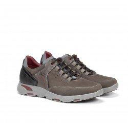 Zapatos Hombre Fluchos Delta F0669  Gris Grafito