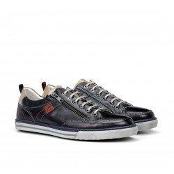 Zapatos Hombre Fluchos Quebec 9376 Azul Marino