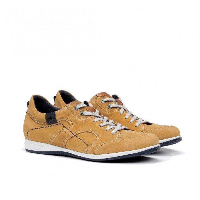Zapatos Deportivos Hombre Fluchos Daniel 9734 Amarillo Timber