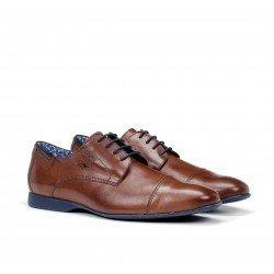 Zapatos Vestir Hombre Fluchos Vesubio 9352 Marrón Líbano