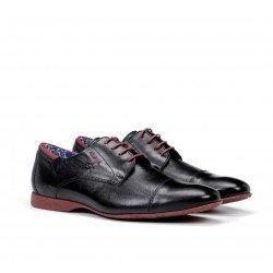 Zapatos Vestir Hombre Fluchos Vesubio 9352 Azul Marino