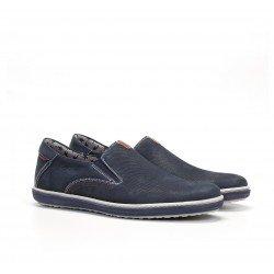 Zapatos Mocasines Hombre Fluchos Pegaso 9707 Azul Océano