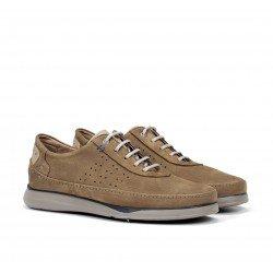Zapatos Hombre Fluchos  Jones F0464 Taupe Vision