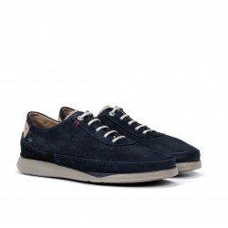 Zapatos Hombre Fluchos  Jones F0464 Azul Océano