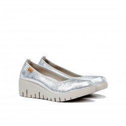 Zapatos Mujer Dorking Manny F0729  Plata