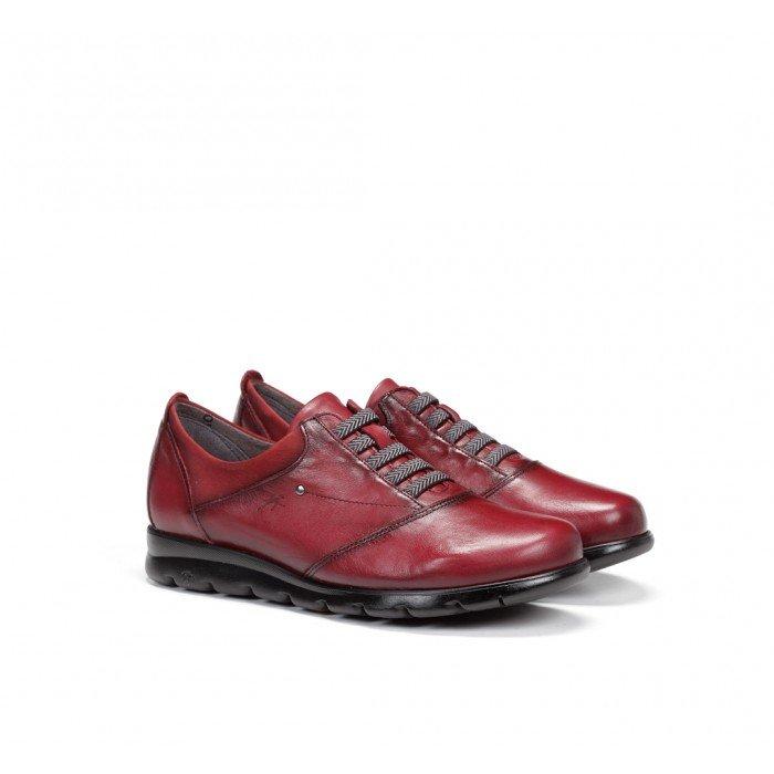 Zapatos Mujer Fluchos Susan F0354 Sugar Picota Burdeos