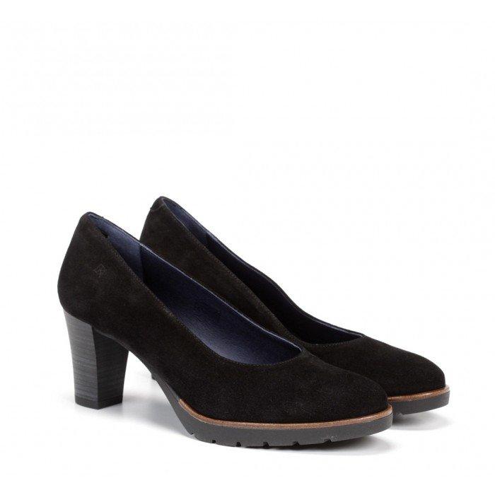 Zapatos Mujer Salón Dorking Opium D7976 Calf Negro