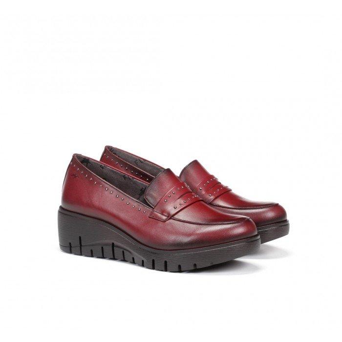 Zapatos Mujer Dorking Manny F0695 Rojo Picota
