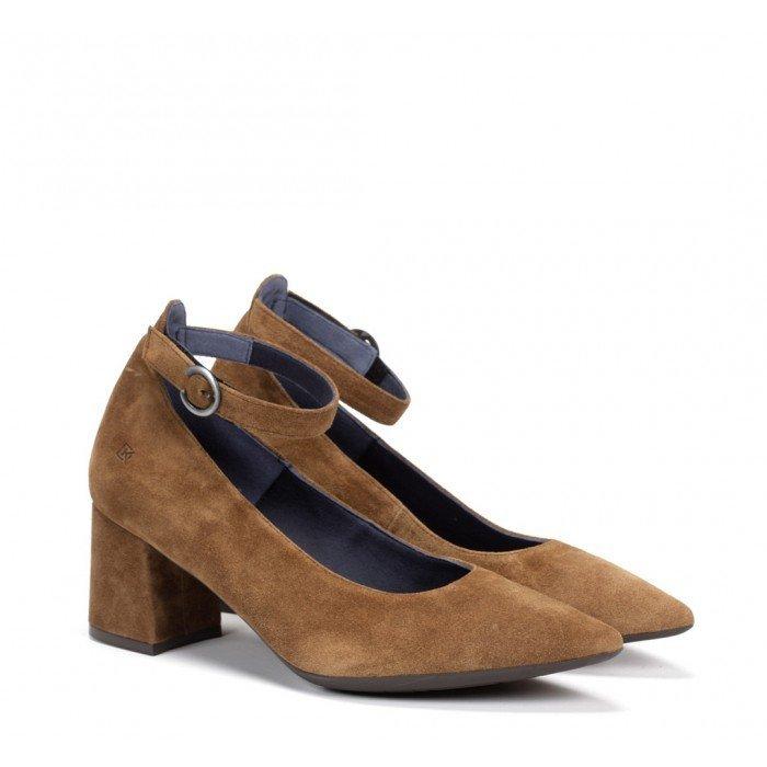 Zapatos Salón Dorking Sofi D7722 Calf Cuero Crusca