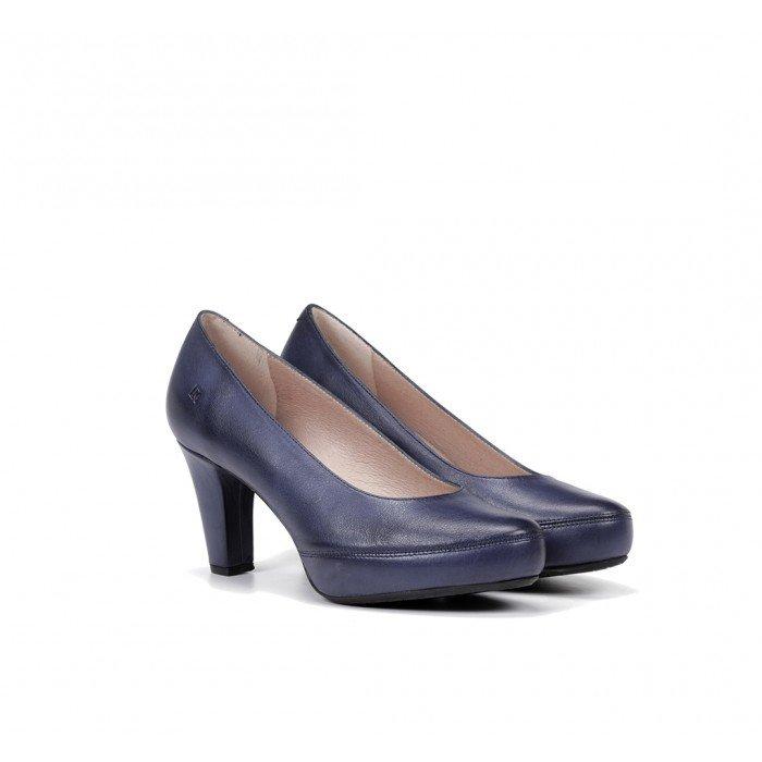Zapatos Salón Mujer Dorking Blesa D5794 Azul Royal