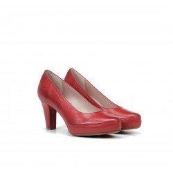 Zapatos Salón Mujer Dorking Blesa D5794 Rojo