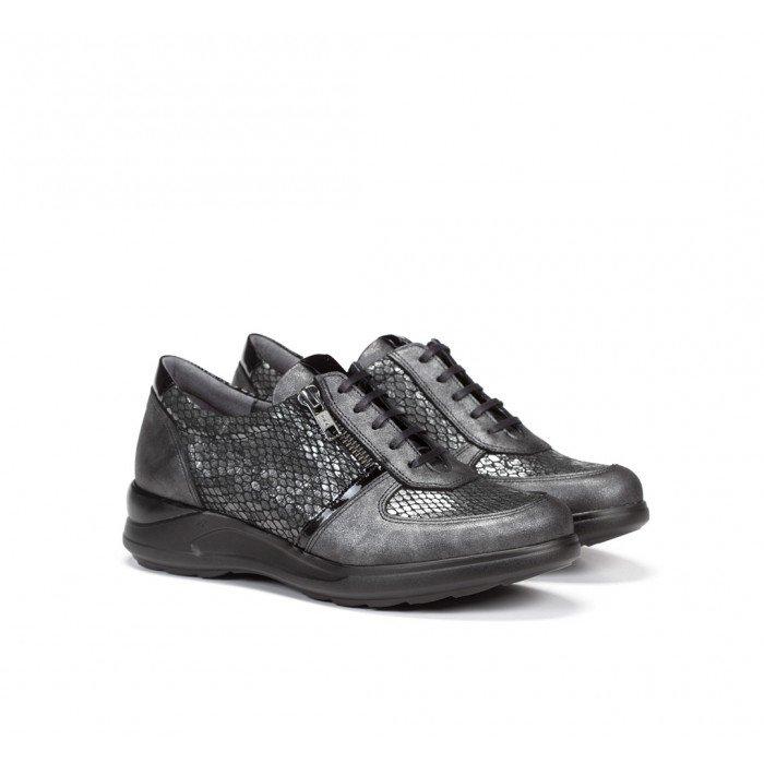 Zapatos Mujer Dorking Cloe F0710 Gris Plomo