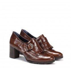 Zapatos Mujer Dorking Kalsy D7972 Sierra Marrón Castaño