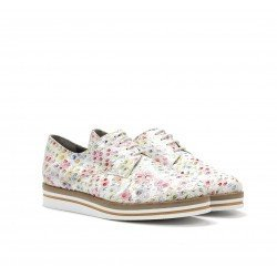 Zapatos Mujer Dorking  Romy D7850 Blanco Estampado