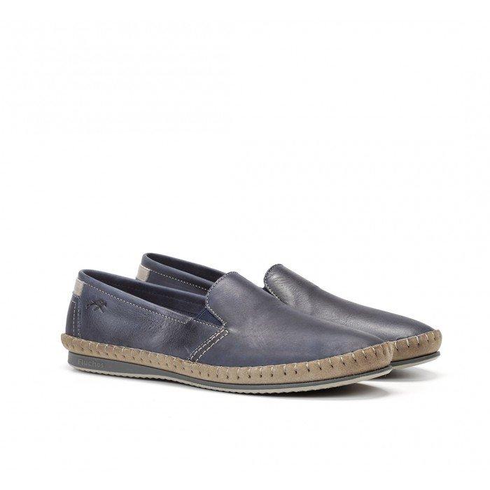 Zapatos Hombre Fluchos Bahamas 8264 Azul Océano