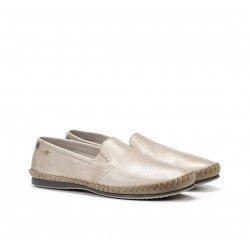 Zapatos Hombre Fluchos Bahamas 8264 Beige Piedra