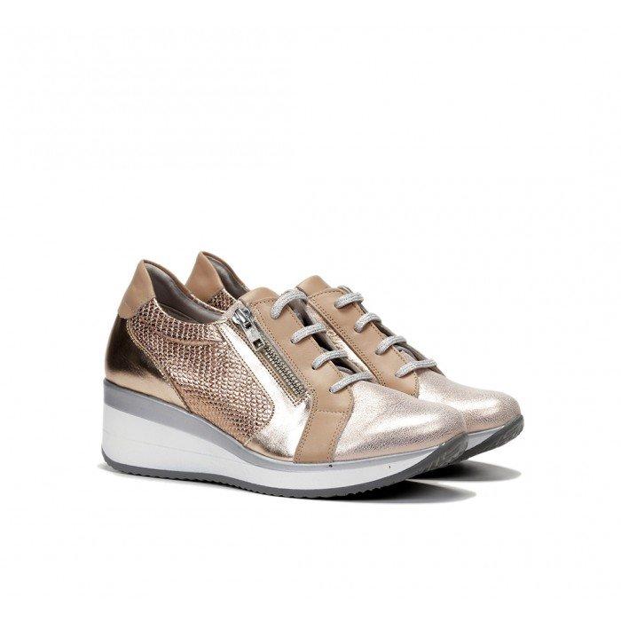 Zapatos Mujer Fluchos Plus F0722 Cobre