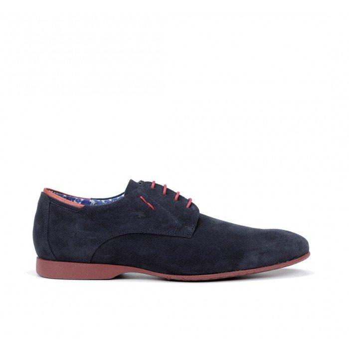 Zapatos Hombre Fluchos Vesubio 9353 Azul Marino