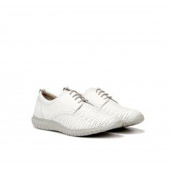 Zapatos Mujer Dorking Silver D8230 Blanco
