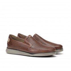 Zapatos Hombre Fluchos  Jones F0467 Marrón Líbano