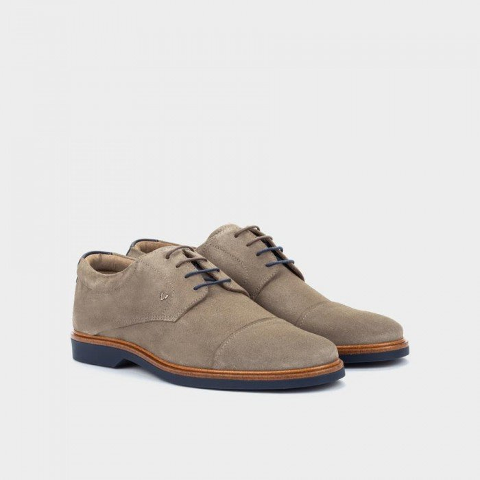 Zapatos Hombre Martinelli Lenny 1384-1697X Smoke / Grisoscuro