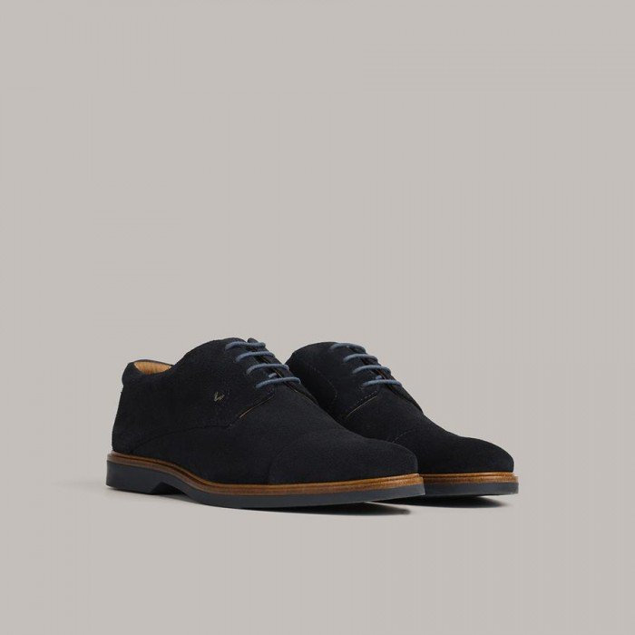 Zapatos Hombre Martinelli Lenny 1384-1697X Azul Dark Blue