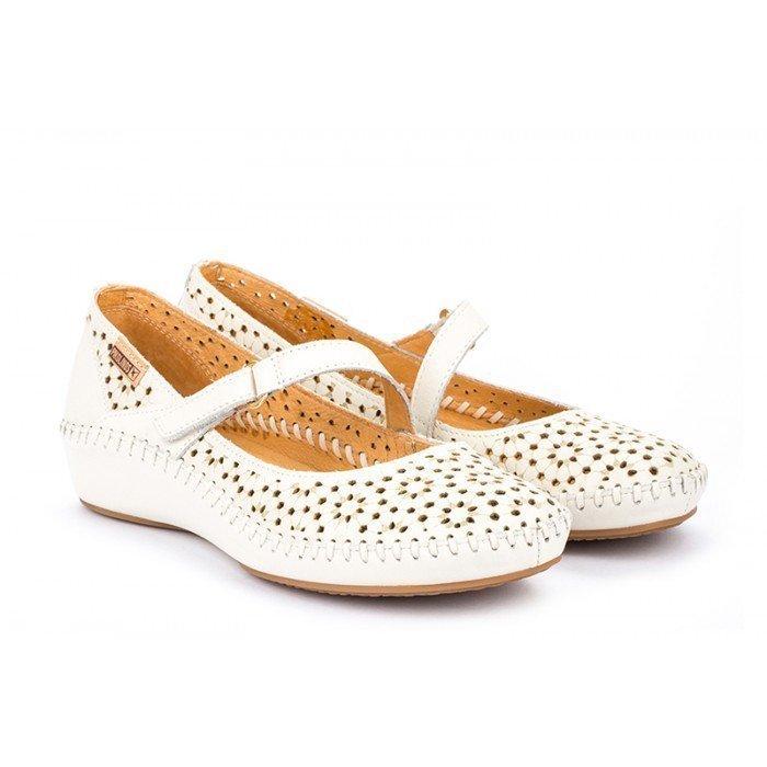 Zapatos Mujer Pikolinos P.Vallarta 655-0701 Blanco Nata