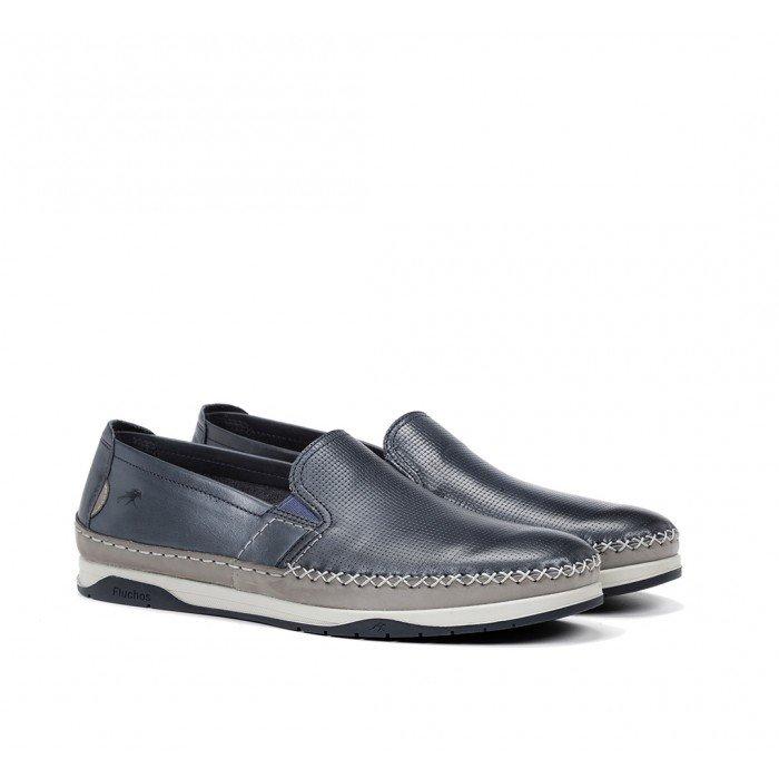 Zapatos Hombre Fluchos Kendal F0814 Azul Lago